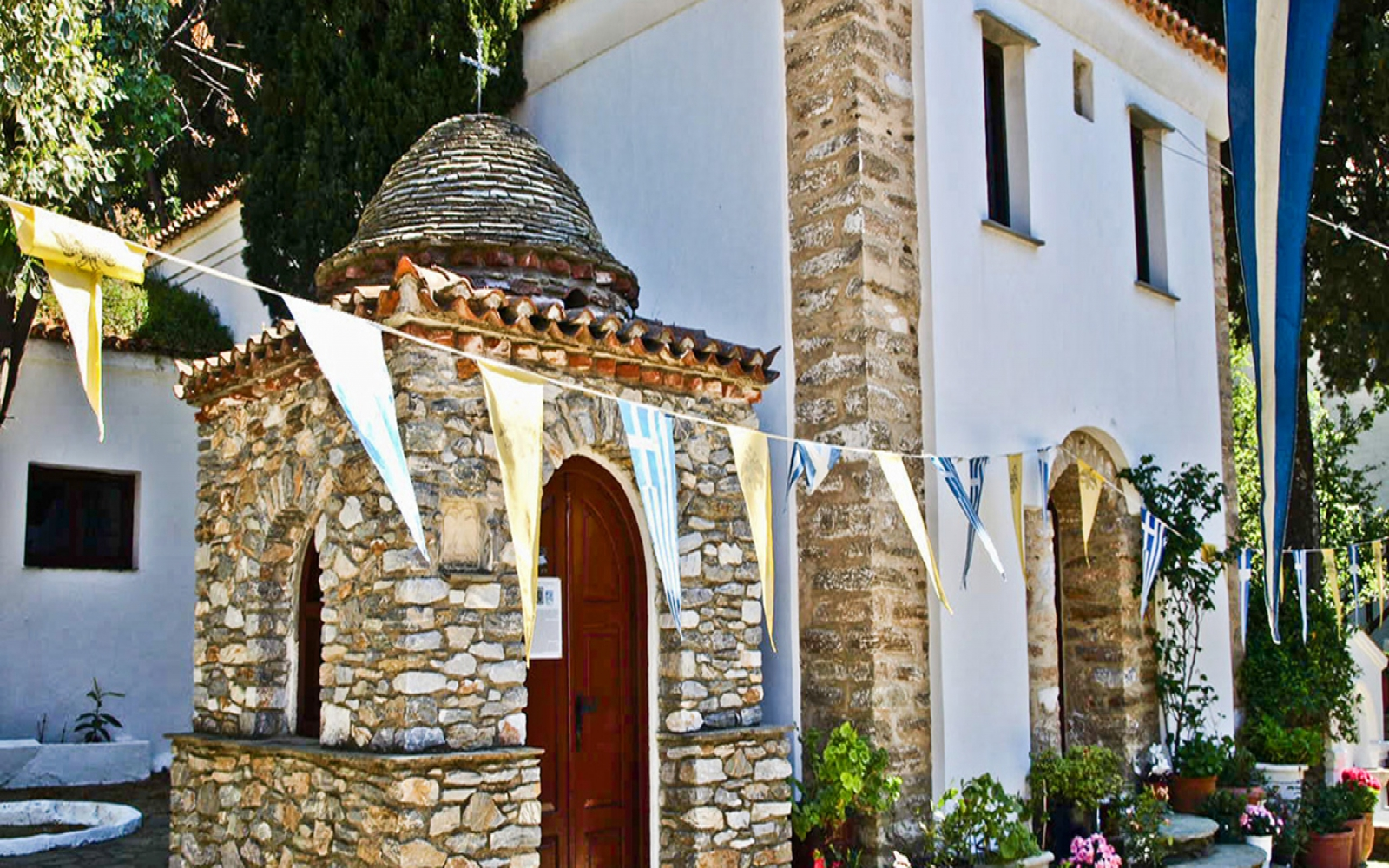 Monasteries of Skiathos